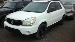 2006 Buick Rendezvous CX runs and drives clean suv as.is deal