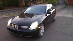 2003 INFINITI G35 Sedan Luxury TEL: 514 2494707