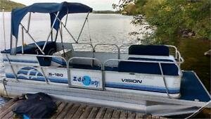 ***COMING SOON*** 2005 SUN PARTY PONTOON RARE18X6 MINI NARROW