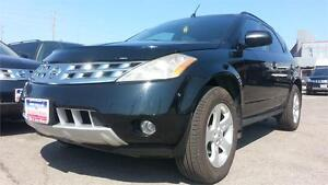 2003 Nissan Murano SL / LEATHER / S-ROOF / AWD / 3YRS WARRANTY