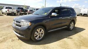 2013 Dodge Durango CREW LEATHER MOON ROOF 3RD ROW SEAT $179 b/w