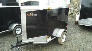 BEST PRICE** 4x6+ V-Nose ENCLOSED CARGO TRAILER