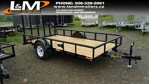 NEW 2017 BIG TEX 6.5' X 10' UTILITY TRAILER