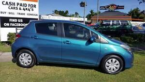 You can't beat Toyota reliability! 2013 Toyota Yaris with Low Km' Westcourt Cairns City Preview