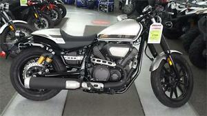 Clearance Sale:  2015 Yamaha Bolt C-Spec