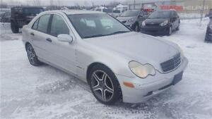 2003 MERCEDES C240 AUTOM CUIR CLIMATISEE TOIT OUVRANT 4MATIC