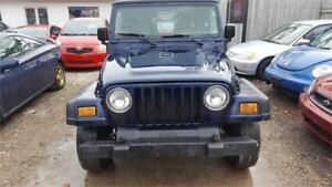 2006 JEEP WRANGLE TJ MANUAL 4x4 EXCELLENT CONDITION SAFETY WARR