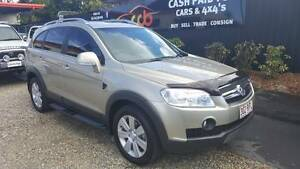 AUTO....LOW Kilometres....2010 Holden Captiva LX CG 7 Seat Wagon Westcourt Cairns City Preview