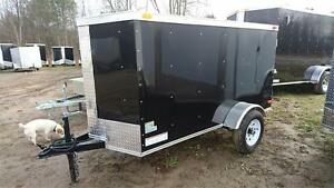 NEW SOUTH CARGO 4X8 ENCLOSED TRAILER