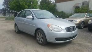 2007 Hyundai Accent GL,Accident Free, One Owner, Certified