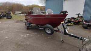 2012 Lund 1625 Rebel LX SS, MERC 60hp (22hrs only) and Trailer