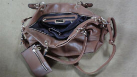 Jimmy Chooo Leather Shoulder Bag Hand Bag Handbag + Purse (also have a Prada, Chanel, Michael Kors)