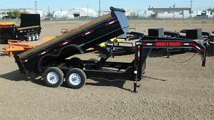 2016 14FT Tandem Gooseneck Dumpbox (14000 GVW) Double A