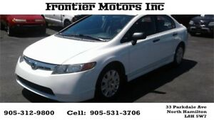 2008 Honda Civic Sdn DX-A 3 MONTH LUBRICO WARRANTY INCLUDED!