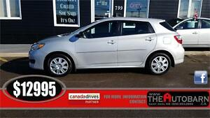 2013 TOYOTA MATRIX - AUTOMATIC, CRUISE, FULLY LOADED, 105000KM
