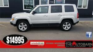 2014 JEEP PATRIOT 4X4 NORTH - Cruise, bluetooth, moonroof