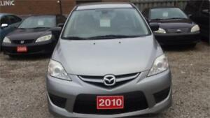2010 MAZDA 5 AUTOMATIC EXCELLENT CONDITION SAFETY & WARRANTY