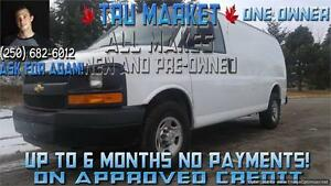 2011 Chevrolet Express 3500 {One Owner} Shelving & Bulkhead!!