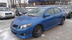 2009 Toyota Corolla S Sport | 72,000KM | New Winter Tires