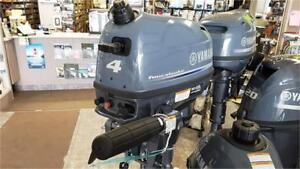 Yamaha 4hp Outboard Four Stroke - New
