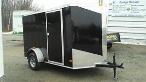 NEW 6X10 V-NOSE ENCLOSED TRAILERS 2017