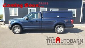 2017 FORD F-150 XL 4X4 TRUCK - ARE WORK CAP, SLIDER, SINGLE CAB