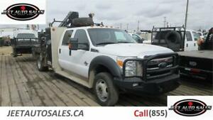 2015 Ford F-550 XLT Crew Cab with Hiab 077 Clx with 6ft deck