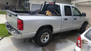 2008 RAM 1500 QUAD CAB 4X4 SAFETIED