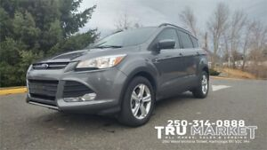 2014 FORD ESCAPE SE Ecoboost *Factory Warranty, One Owner, AWD*