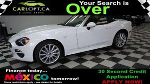 2017 Fiat 124 Spider LUSSO RWD - LOW KMS**KEYLESS ENTRY**LEATHER