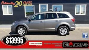 2013 DODGE JOURNEY SXT - 4CYL AWD, CRUISE, BLUETOOTH, CD PLAYER