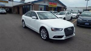 2014 Audi A4 Komfort/NO ACCIDENT/BLUETOOTH/LEATHER/HEATED/$20999