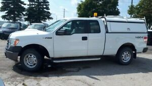 2012 Ford F150 XL 4x4, 4 Door, Box Cover, Tow package! V6 3.7L!