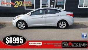 2012 HYUNDAI ELANTRA GLS SEDAN-  Cruise, bluetooth, moonroof