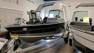 2017 LUND 1675 IMPACT W/90 HP OUTBOARD