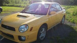 2003 Subaru Impreza WRX, Man. 157000KM