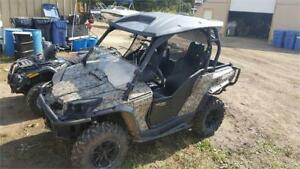 VERY LOW KM COMMANDER 800CC CAMO WITH LOTS OF ACCESSORIES
