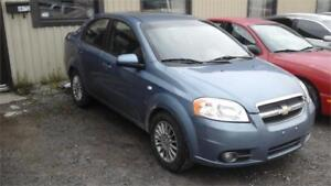 2008 Chevrolet Aveo LT runs and drives as.is deal