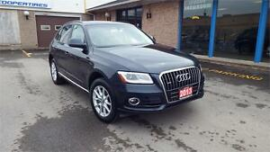 2013 Audi Q5 2.0L AWD*LEATHER*BLUETOOTH*ALLOY*VERY CLEAN*22999*