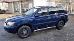 toyota highlander 4cyl 4WD, 2004, AC, groupe electrique complet