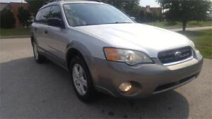 2007 Subaru Outback 2.5i ALl Wheel Drive Low Km Certified