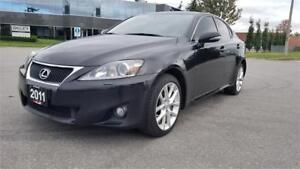 2011 Lexus IS 350 AWD | Accident Free | One Owner | Bluetooth
