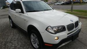 2007 BMW X3 PREMIUM PACKAGE PANORAMIC ROOF FINANCING AVAILABLE