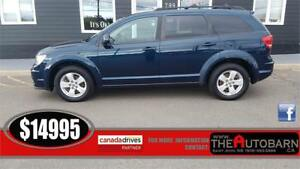 2012 DODGE JOURNEY CREW - auto, 7 passenger, cruise, bluetooth
