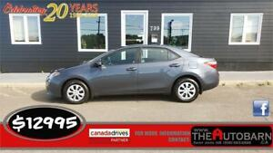 2014 TOYOTA COROLLA CE SEDAN - 4CYL, AUTO, FULLY LOADED