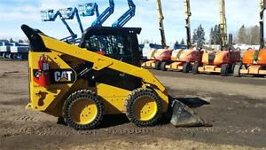 Caterpillar 262D Skid Steer