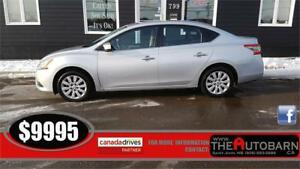 2013 NISSAN SENTRA SV SEDAN - auto, cruise, bluetooth