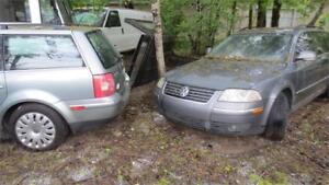 2005 Volkswagen Passat Wagon GLS 2 auto 2500 transmission brisee