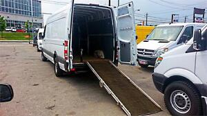 "2008 Dodge Sprinter 2500 / High Roof, 170""WB / RAMP / 178K"