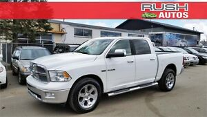 2010 Dodge Ram 1500 Laramie **CREW CAB, LEATHER, LUXURY PKG**